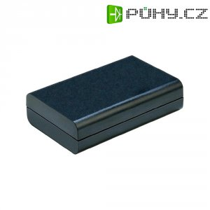 Plastové pouzdro Strapubox 2525 sw, (d x š x v) 123 x 70 x 51 mm, černá