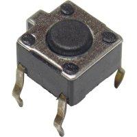 Mikrotlačítko do DPS Apem, PHAP3301A, 12 V/DC, 0,05 A, vyp./(zap.)