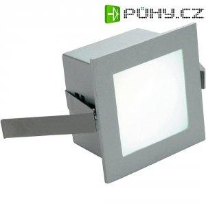 Vestavné LED osvětlení Frame Basic 113262, 1 W, teplá bílá, hliník