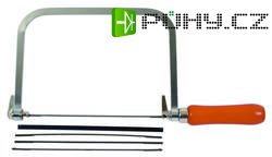 Lupínková pila Avit AV09030, nastavitelná, včetně 5 listů na dřevo a kov