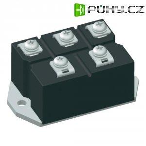 Můstkový usměrňovač IXYS VUO62-16NO7, U(RRM) 1600 V, 63 A, PWS-D
