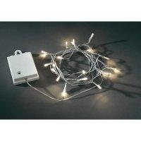 Venkovní světelný řetěz s mikro LED Konstsmide, 40 LED, 4,4 m, bílá