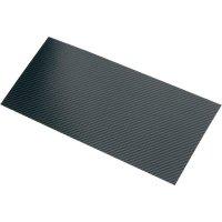 Uhlíková deska 340 x 150 mm x 0,3 mm