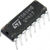 TDA3410 - předzesilovač pro mgf, DIL16