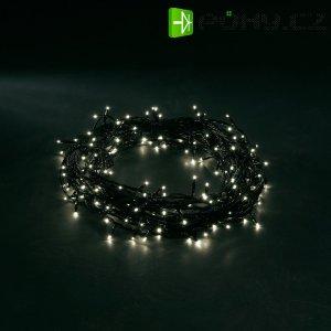 Vánoční venkovní řetěz Konstsmide, 80 bílých LED, 10,53 m
