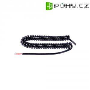 Šroubovitý kabel mikrofonu 6žílový