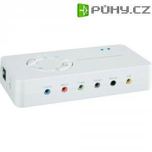 USB Soundbox 7.1 Conrad, bílý