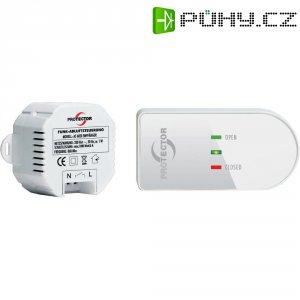 Bezdrátové ovládání odvětrávání Protector AS6020, 1000 W, bílá/hnědá