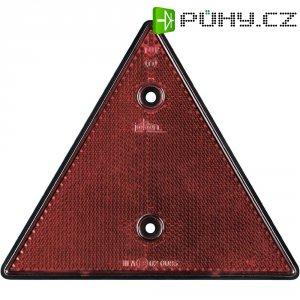 Zadní odrazka SecoRüt, 90260, trojúhelníková, červená