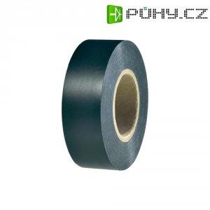 Izolační páska HellermannTyton HelaTapeFlex 1000+, 710-00612, 19 mm x 33 m, černá