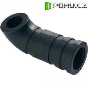Silikonové koleno vzduchového filtru Reely, J tvar, 1:8, 3,5 - 4,1 cm3, černá