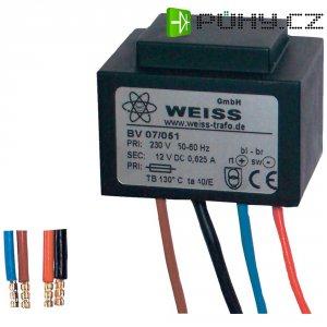 Kompaktní napájecí zdroj Weiss, 8 V/AC, 0,125 A