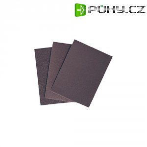 25 ks brusného papíru 55 x 75 mm K180