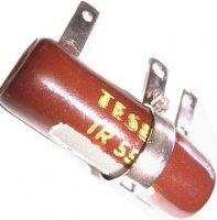 15R TR556, rezistor 10W drátový s odbočkou