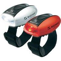 Sada LED svítilen SIGMA Micro Combo, bílá a červená