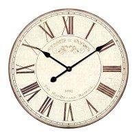 Analogové nástěnné retro hodiny Techno Line WT 1510, 50 cm, Galerie du Gaston