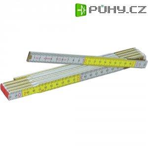 Skládací dřevěný metr Stabila Luxus, 2 m