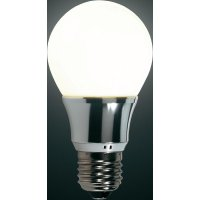 LED žárovka Renkforce E27, 5,5 W = 40 W, teplá bílá