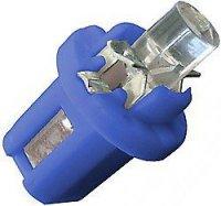 Žárovka LED B8,5D 12V/0,2W modrá