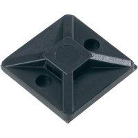 Příchytka HellermannTyton MB3APT-PA66-BK-C1 151-00432, šroubovací, černá, 1 ks
