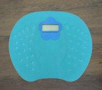 Digitální váha do 150kg - modrá
