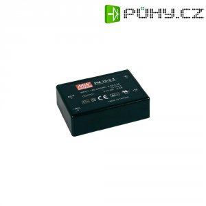 Síťový zdroj do DPS MeanWell PM-15-15, 15 V, 15 W