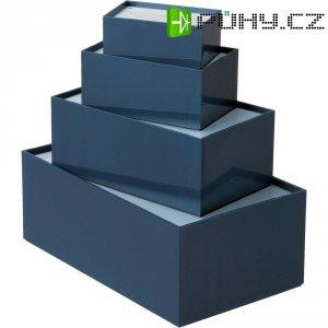 Univerzální pouzdro TEKO P/2, 110 x 72 x 50 , plast, šedá, modrá