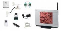 Meteostanice WXR LM2, anenometr, srážkoměr, USB