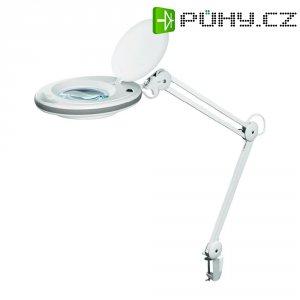 Lupa s LED osvětlením a stolní svorkou FixPoint 45271, zvětšení: 1,75 x, Ø lupy: 125 mm, prac.rádius 90 cm