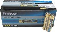 Baterie LR3 AAA(R03) alkalická TINKO, balení 60ks