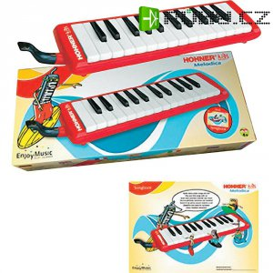 Foukací pianová harmonika Hohner Kids, HOK94266