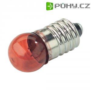 Kulatá žárovka Barthelme, 2,5 V, 0,5 W, 200 mA, E10, čirá
