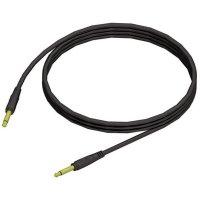 Instrumentální kabel JACK 6,3 mm Paccs, 1,5 m, černá