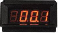 Panelové měřidlo 199,9mV PM129 LED voltmetr panelový digitální