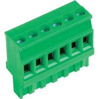 Šroubová svorka PTR AKZ1100/6-5.08 (51100060001E), AWG 41934, 5,08 mm, zelená