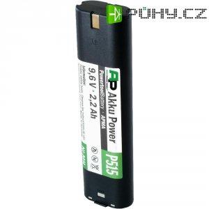 Náhradní akumulátor pro akuvrtačky, šroubováky apod., APMA-9,6 V/2,0 AH