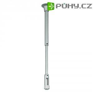Úchyt pro kolejnicový systém SLV Linux Light, 138240, délka 6,5 cm, stříbrná/šedá