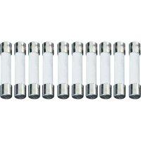 Jemná pojistka ESKA pomalá UL632.320, 250 V, 2 A, skleněná trubice, 6,3 mm x 32 mm, 10 ks
