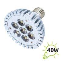 Žárovka LED E27/230V (7x1W) bílá teplá