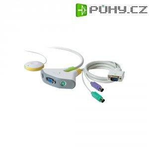 Přepínač se 2 porty Belkin, PS/2 s dálkovým ovládáním