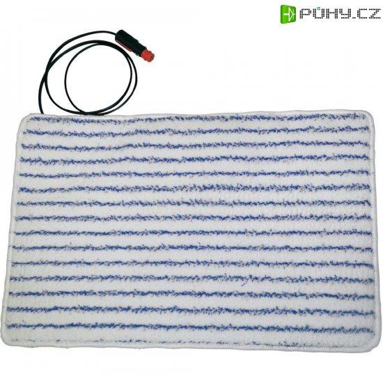 Vyhřívaný kobereček ProCar, 60 x 40 cm, pruhovaný - Kliknutím na obrázek zavřete