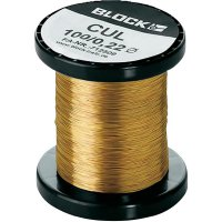 Měděný lakovaný drát CUL, Ø 0 ,40 mm, Block CUL 500/0,40
