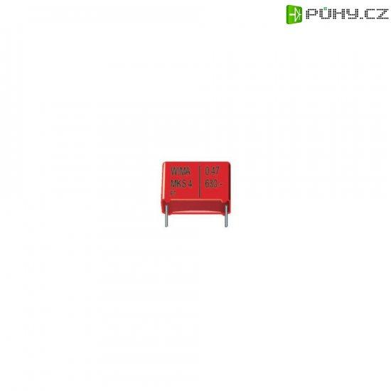 Fóliový kondenzátor MKS Wima MKS 4, RM 7,5 mm, 10 %, 1000 pF, 1000 V, 20 %, 10 x 2,5 x 7 mm - Kliknutím na obrázek zavřete