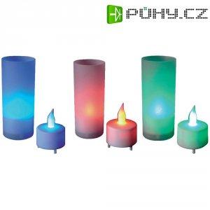 LED svíčka, 71.960, červená/zelená/modrá
