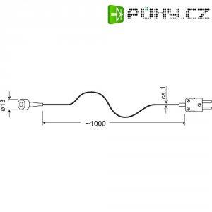 Teplotní čidlo Greisinger GMF 250, typ K, -65 až +250 °C, 101000