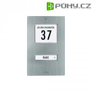 Zvonková deska M-e GmbH KT 1-EG, 1 tlačítko, max. 12 V/1 A , nerez