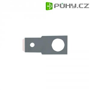 Jazýčkový konektor neizol. Vogt 3822.67, 0,8 mm, 180 °, 4,3 mm, kov
