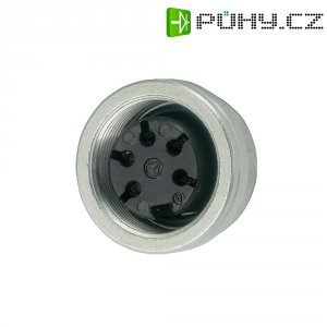 Přístrojová zásuvka Amphenol T 3487 000, 7pól., 3 - 6 mm, IP40