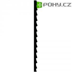 Sada listů lupínkové pily na dřevo, plasty a plexiskla, 12 ks, 130 mm