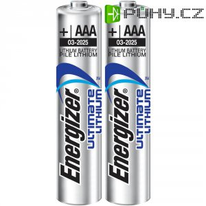 Baterie lithiová Energizer, typ AAA